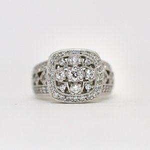 Tacori Queen Engagement Ring